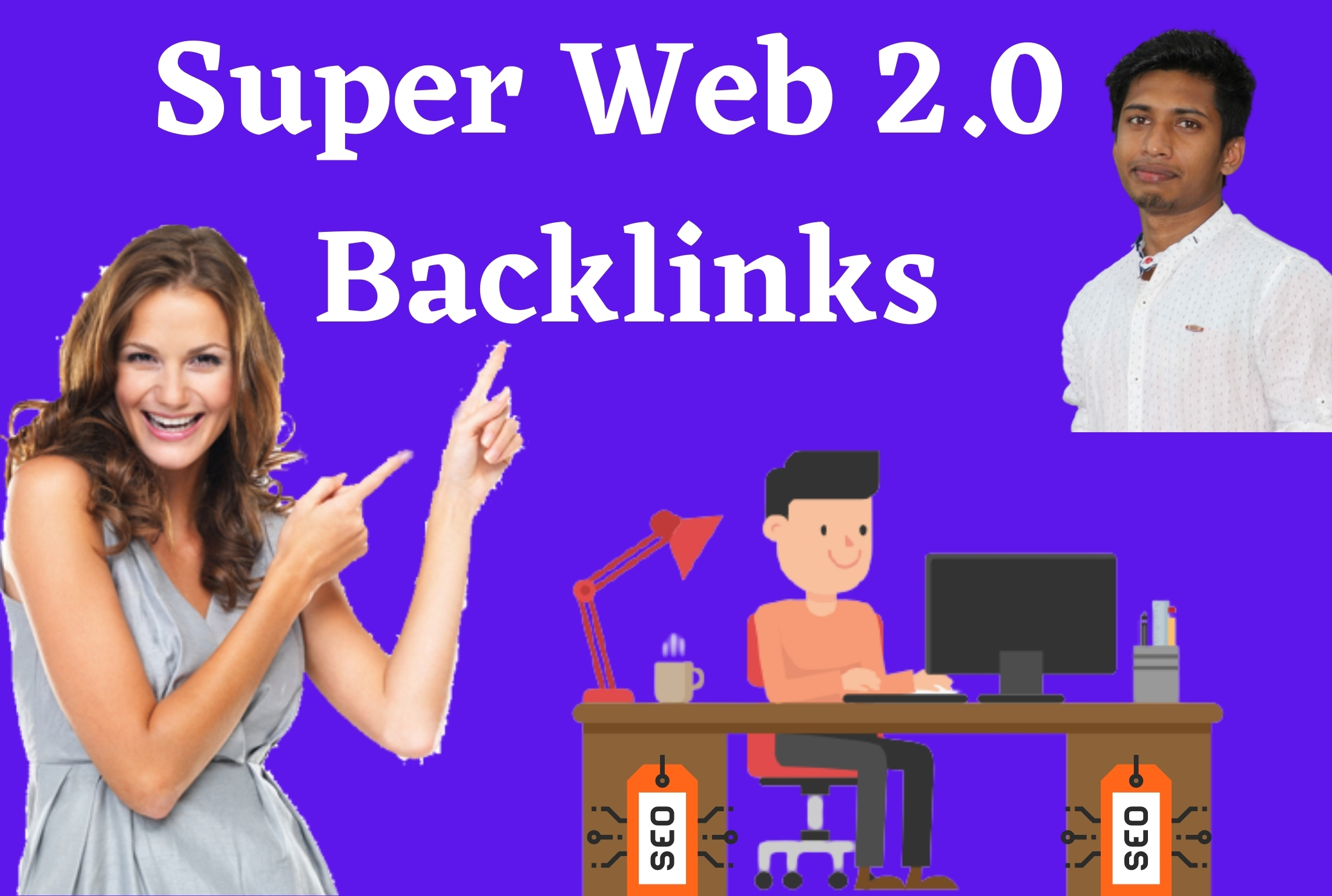 I will Create Manually 100 high authority web 2 0 white hat SEO backlinks