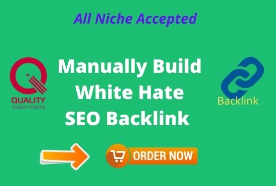I will build high quality dofollow SEO backlinks for your website