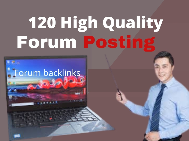 I will create High Quality Forum backlinks general and niche