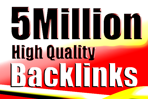 I will create 5 million niche relevant specified dofollow gsa backlinks