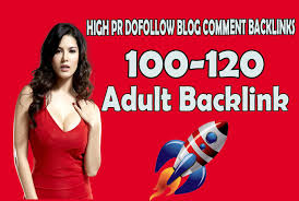Create manual 100+ high ranking adult site seo backlinks