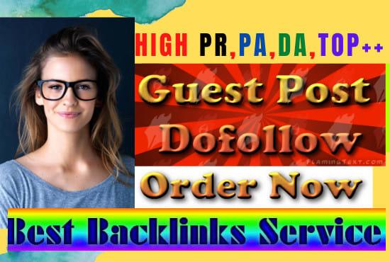 I will increase high- da-dofollow seo backlinks google top rank