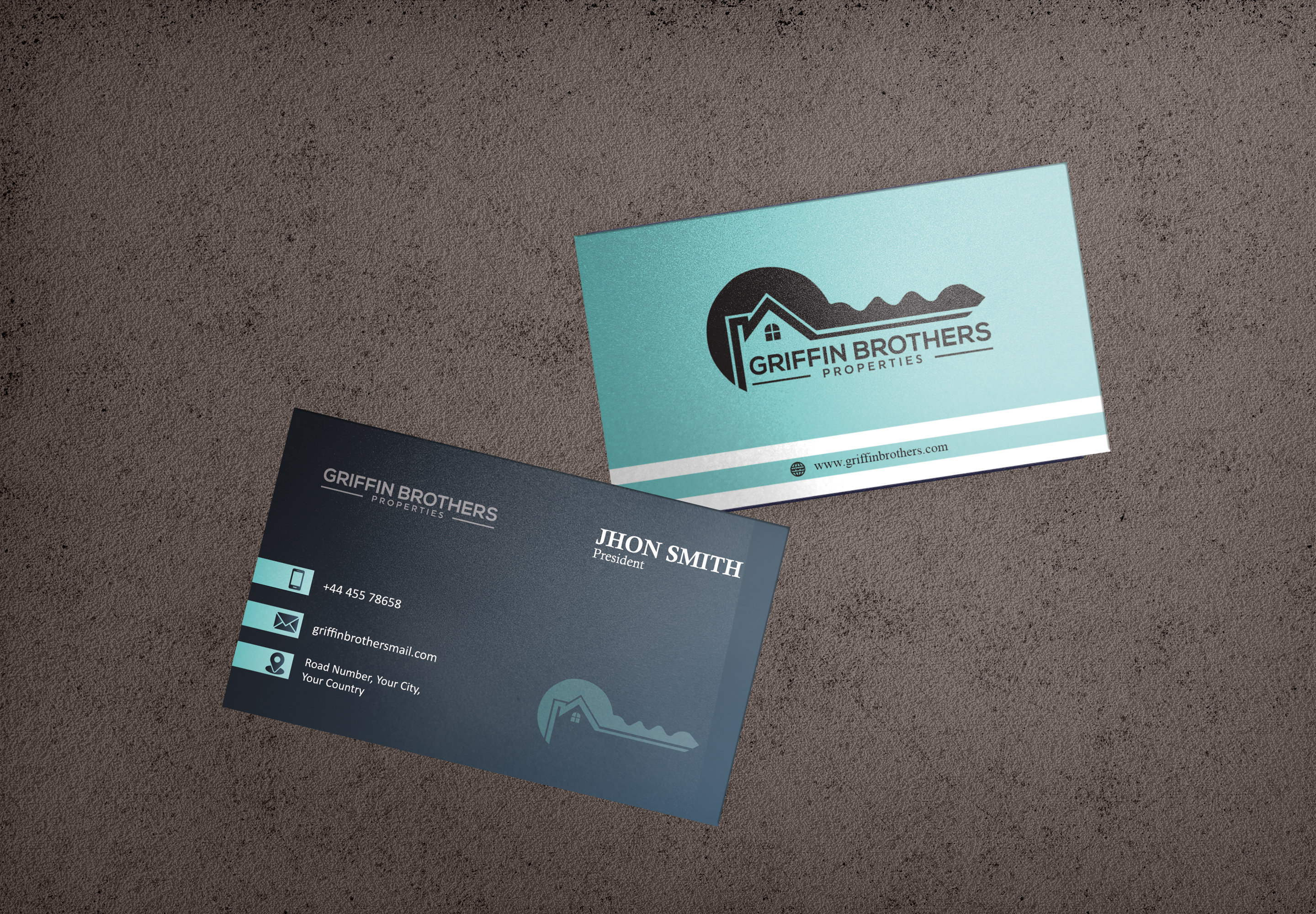 I will do professional business card design for you.