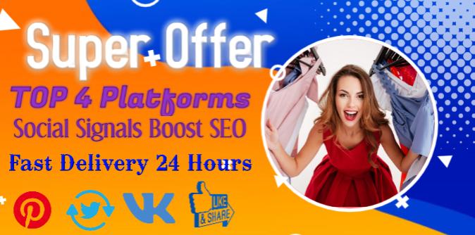 8000 Top4 Platform Social Signals Web Pinterest Network SEO/backlink/bookmark/traffic Google Ranking