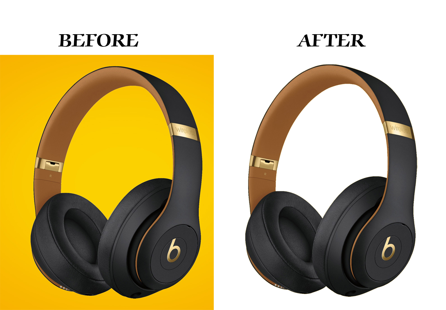 I will do background remove,  clipping path work with unlimited revisions
