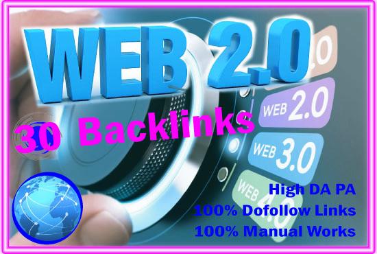I will Create 30 web 2.0 Buffer Blogs and 50 Dofollow Profile Backlinks