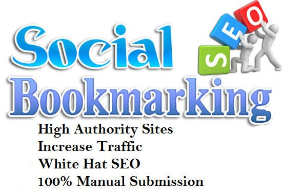 create 50 plus social bookmark submission backlinks