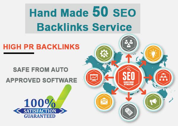 create 180 high authority backlinks rank you first on google