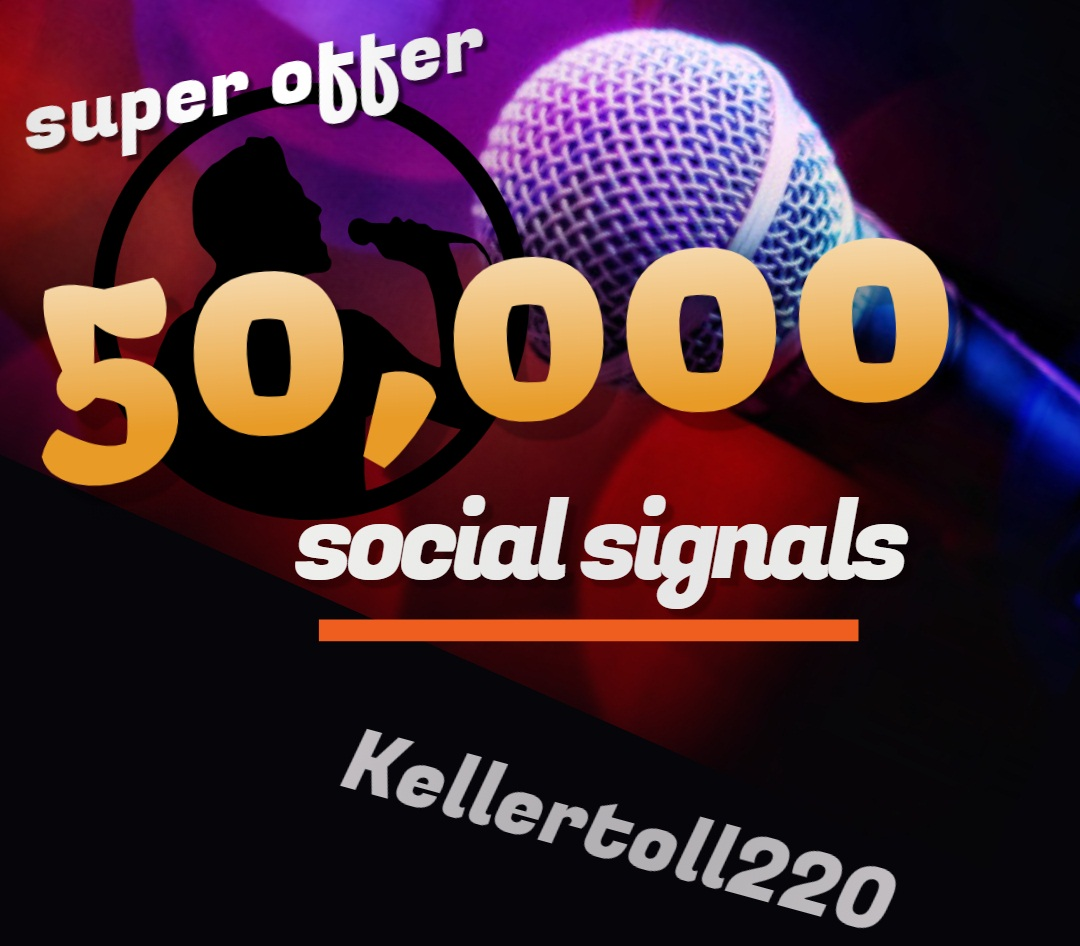 50,000 Web Share Social Signals PR 10 Boost SEO Ranking Rocket