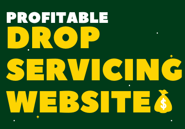 I Will Create Drop Servicing Website