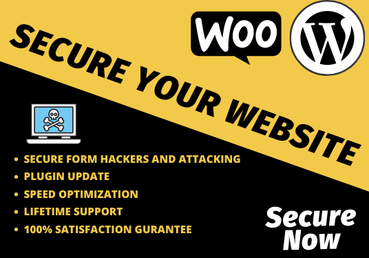 I Will Secure Your Website or Ecommerce store