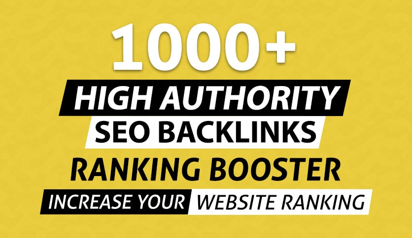 I will boost 1000 high da link building SEO backlinks for google ranking