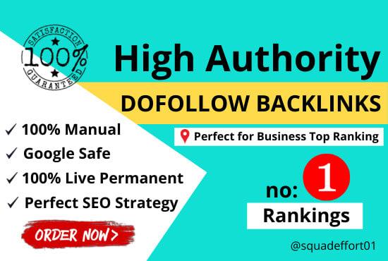 I will create 1000 manual high da permanent dofollow backlinks off page SEO