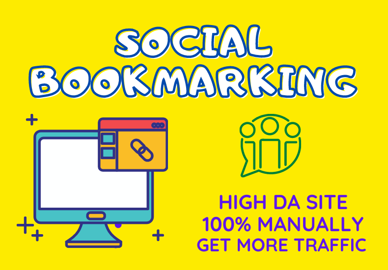 Create 50 Niche Social Bookmarking High Domain Authority Site Increase your business