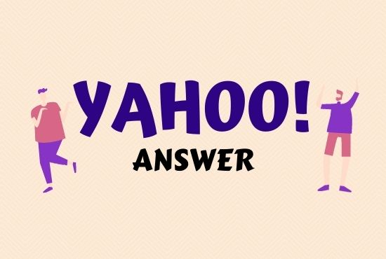 Promote your website 10 High Quality Yahoo Answer Backlinks