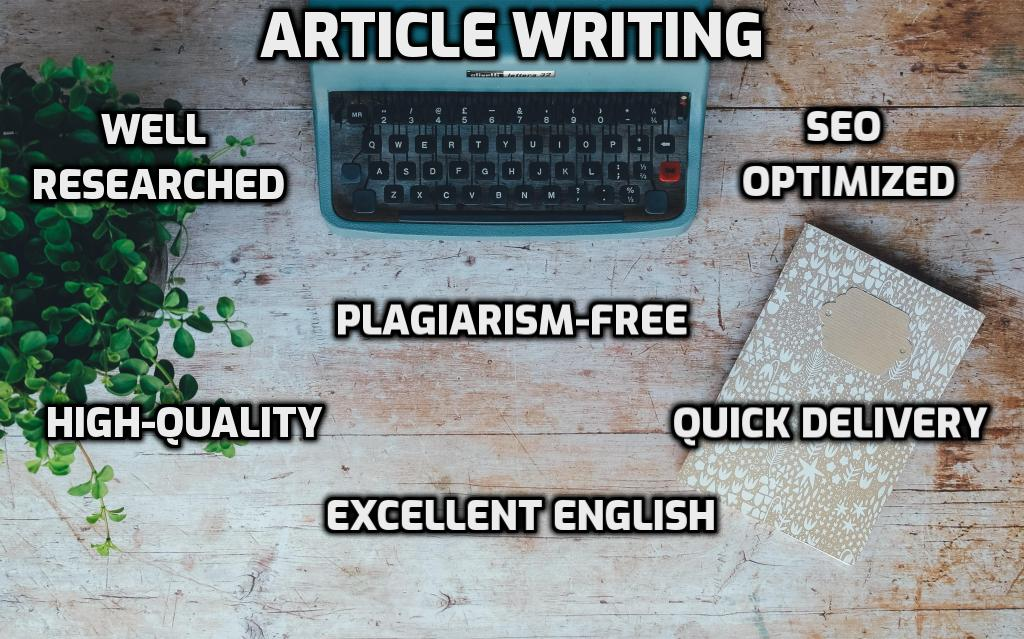Write Unique 2 X 500 words creative SEO website contents,  blog post or article writing in 24 hours