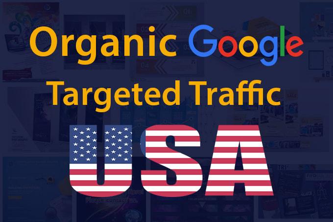 5k organic real organic targeted USA web traffic