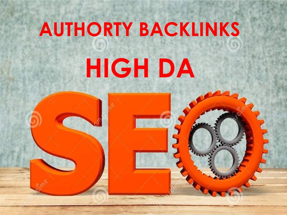 I will Do 15 High Da Authority Dofollow Backlinks