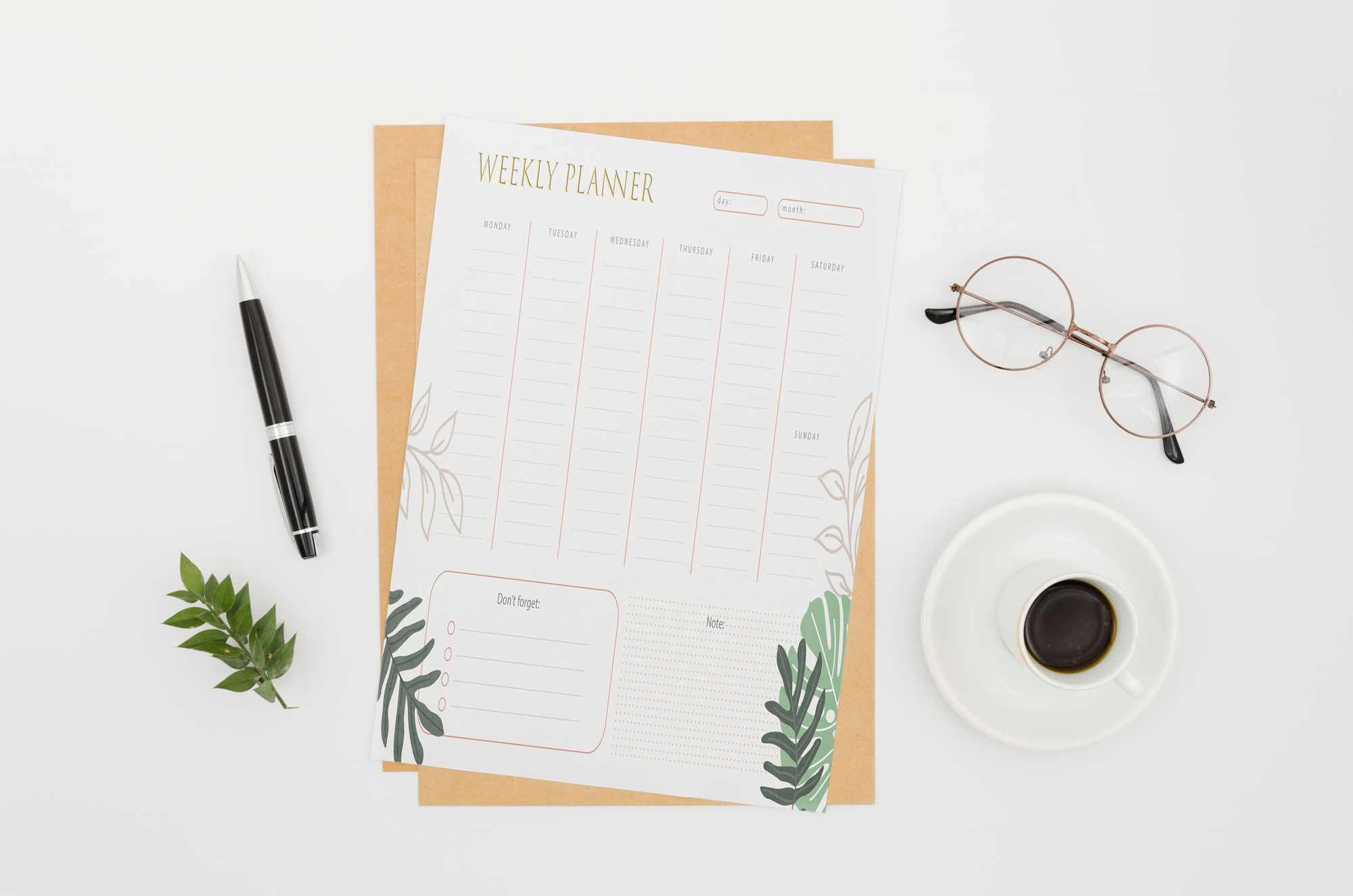 Create a custom planner,  journal,  calendar or ebook