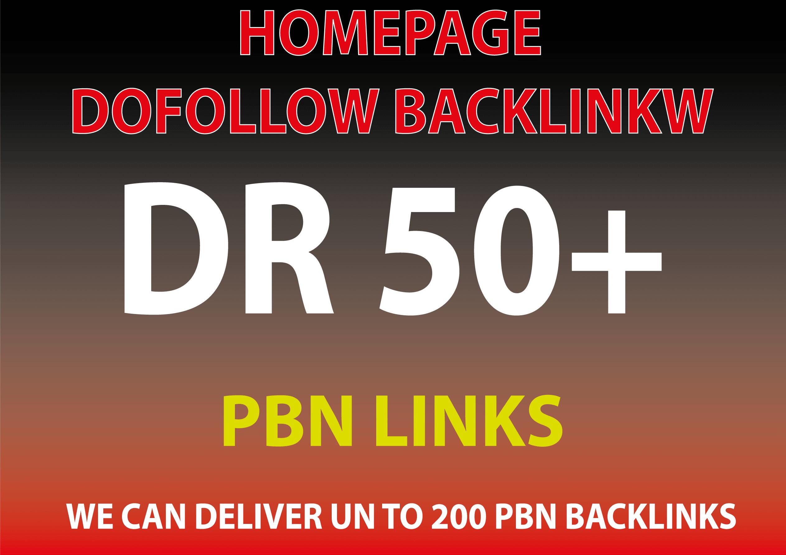 Create manual 25 high quality homepage PBN backlinks