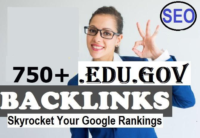 750 high trust domain authority seo backlinks