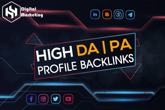 Create 150+ Profile white hat manual seo dofollow Backlinks