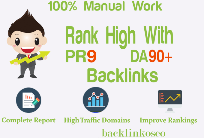 boost your rankings with high pr links,  high da backlinks