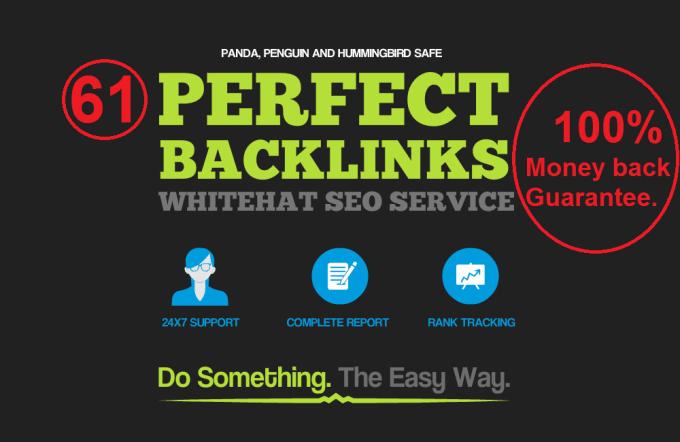 create high da dofollow SEO backlinks lifetime google rank