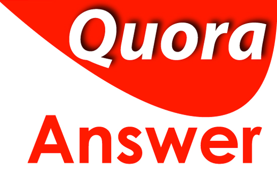 I will do manually 5 High Quality Quora Answer