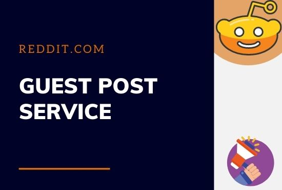 Write and publish 5 guest post on Reddit. com with keywords and url