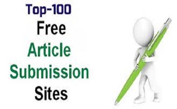 I will do 100 unique article submission backlinks with SEO optimized
