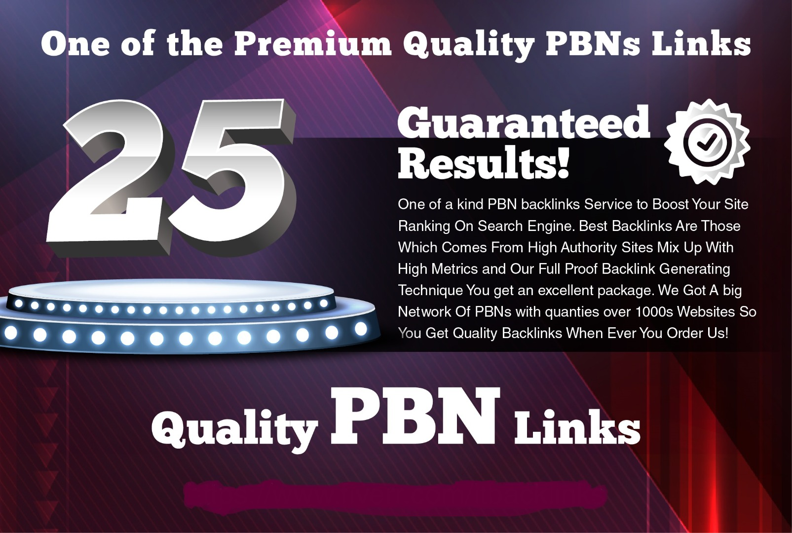 I will Do 25 Top Quality High DA PA MOZ Rank PBN Links Manually Work