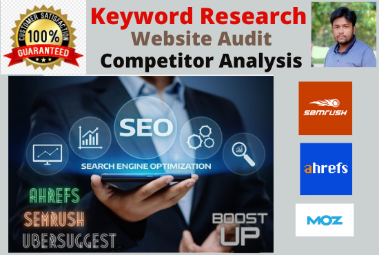 I will do low competitive keyword research and competitor analysis your website