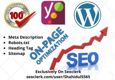 I will Set up your WordPress site Yoast SEO without any error