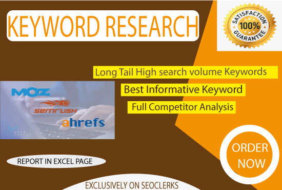 I will do profitable keyword research for your website