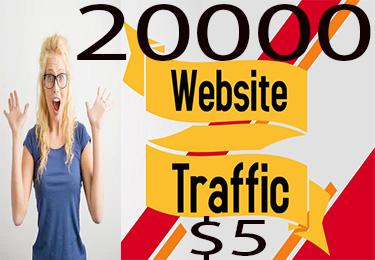 Qualityful 20000 USA Website Traffic