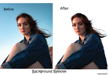 I will remove background images for you