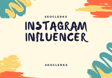 I will find you best 50 instagram & Youtube influencer according your niche