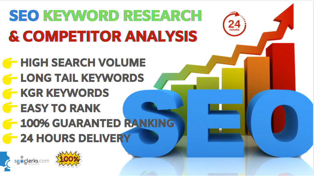 seo keyword research and competitor analysis in 24 hours