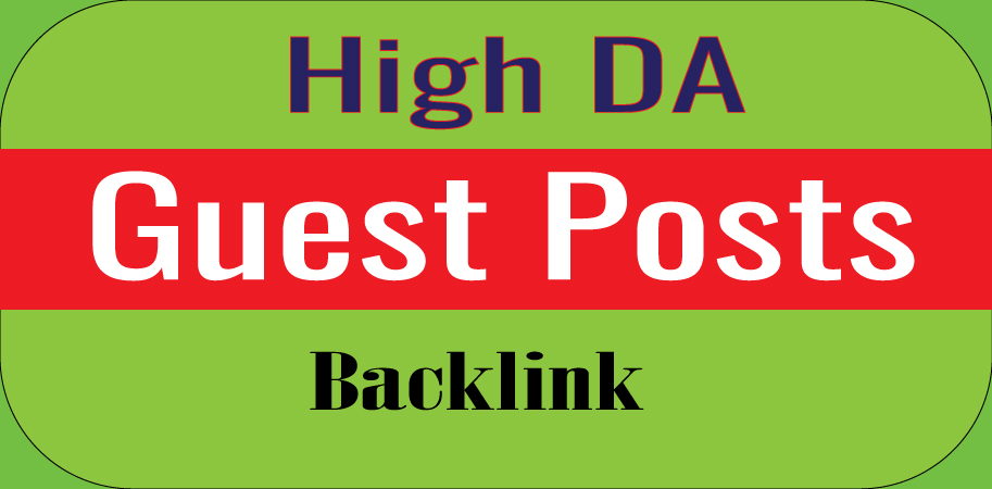Write and. Publish 5 Guest Posts High DA Powerful Backlinks