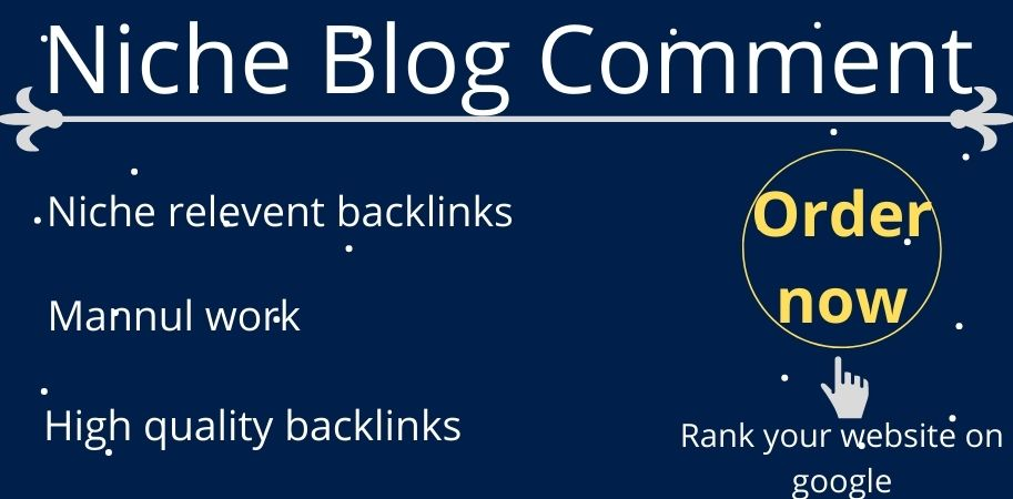 I will provide 50 niche relevant blog comments backlink