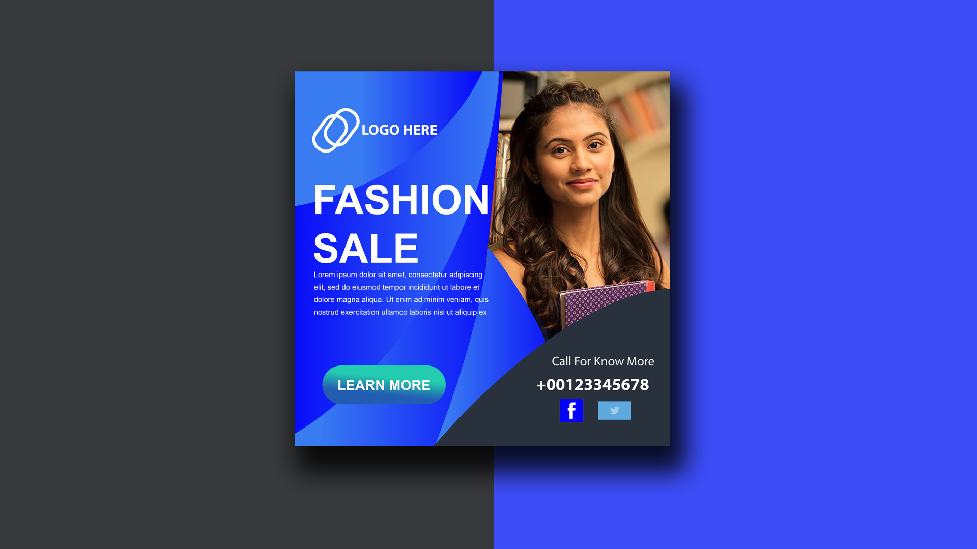 I will design web banner and social media post and for you