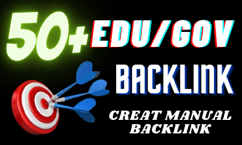 I will add your site to 60 edu/gov backlink manually