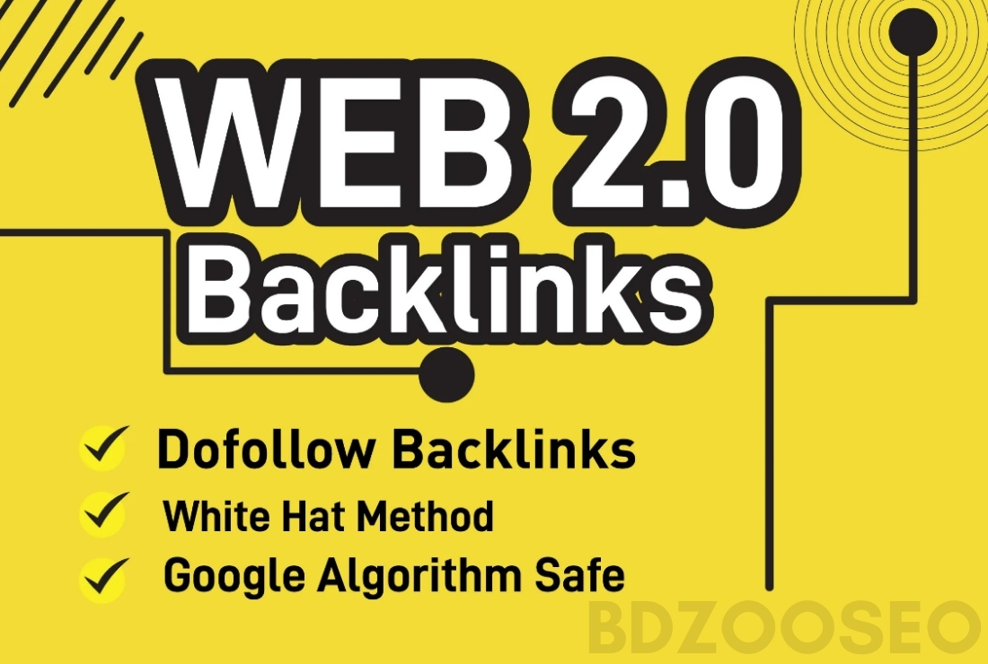 I will build 50 dofollow manual web 2.0 backlinks