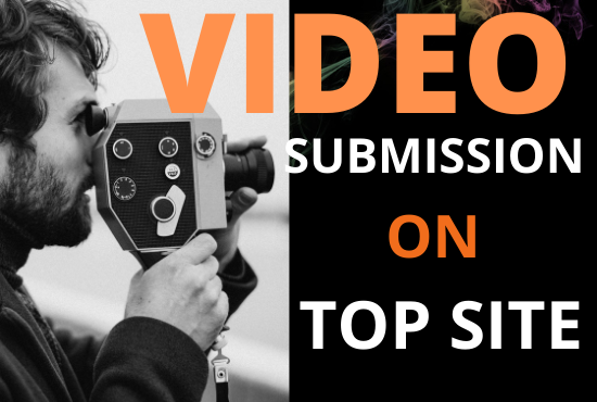 Manually 20 videos submission on Top and Highr PA video sharing sites