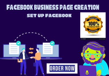 I will create and manage your Facebook page and FB shop