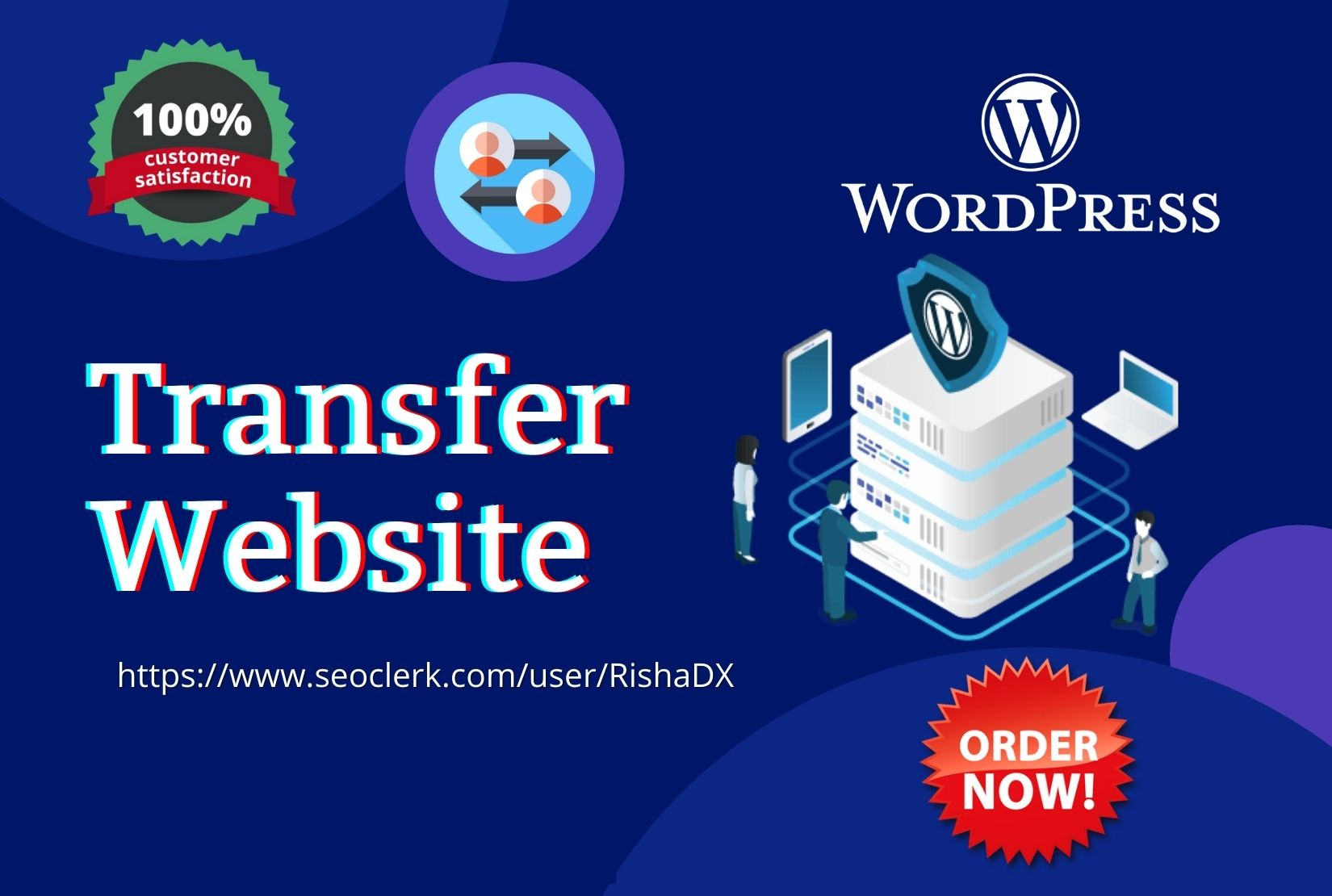 I will transfer,  migrate or clone wordpress website to new host or domain