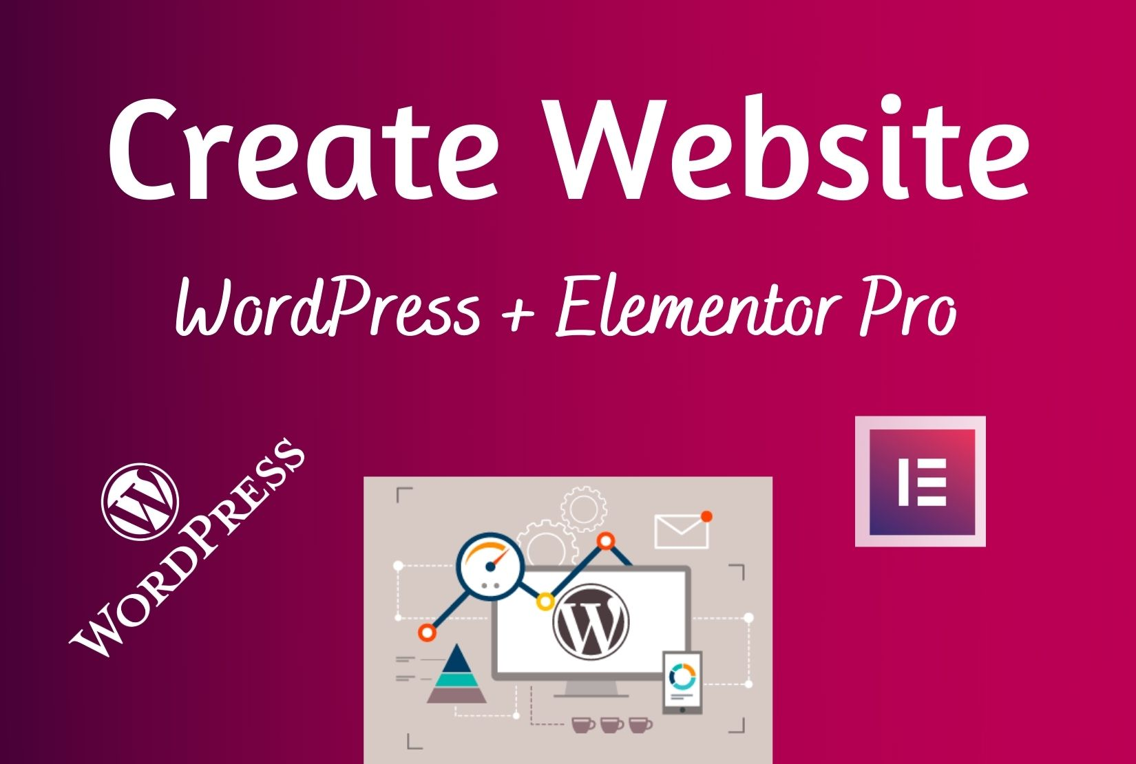 I will make wordpress website by elementor pro in 18 hours