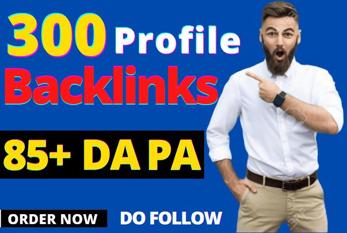 300 All Unique manually DA85+ Permanent Backlinks help to rank Google No 1 quick