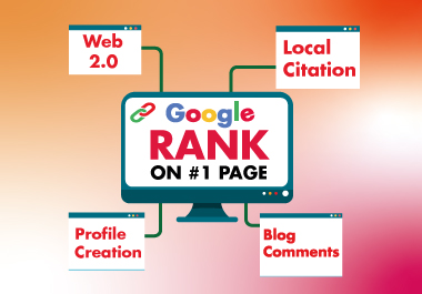 All in one manual backlinks package Web2.0,  Profle Creation Backlink,  Local Citation & Blog Comments